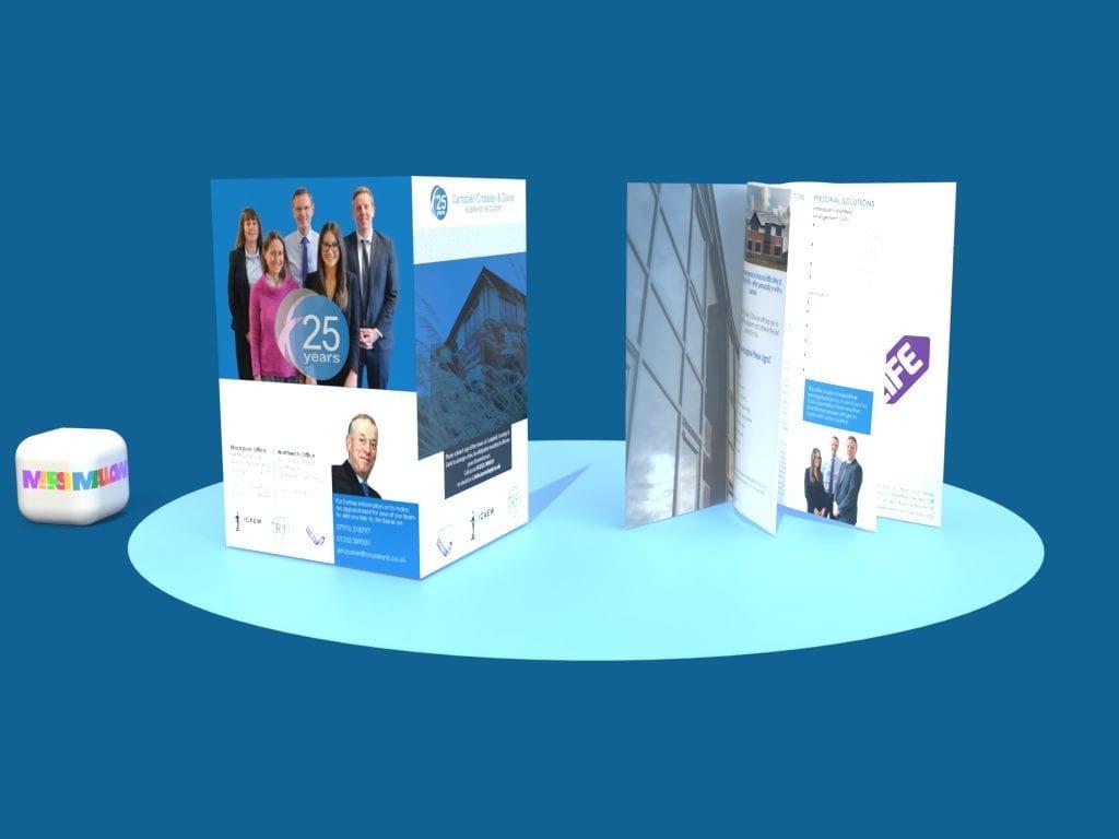 Campbell Crossley & Davis Brochure   Creative Design From Marshmallow Marketing