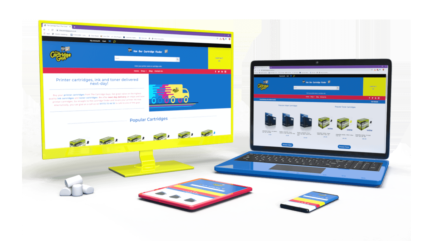 The Cartridge Guys - Ecommerce Website Design & Development