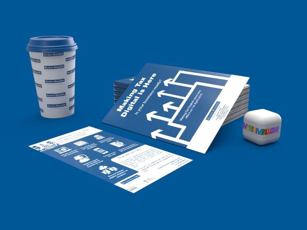 Beckett Rawcliffe Accountants Making Tax Digital Leaflet   Creative Design by Marshmallow Marketing