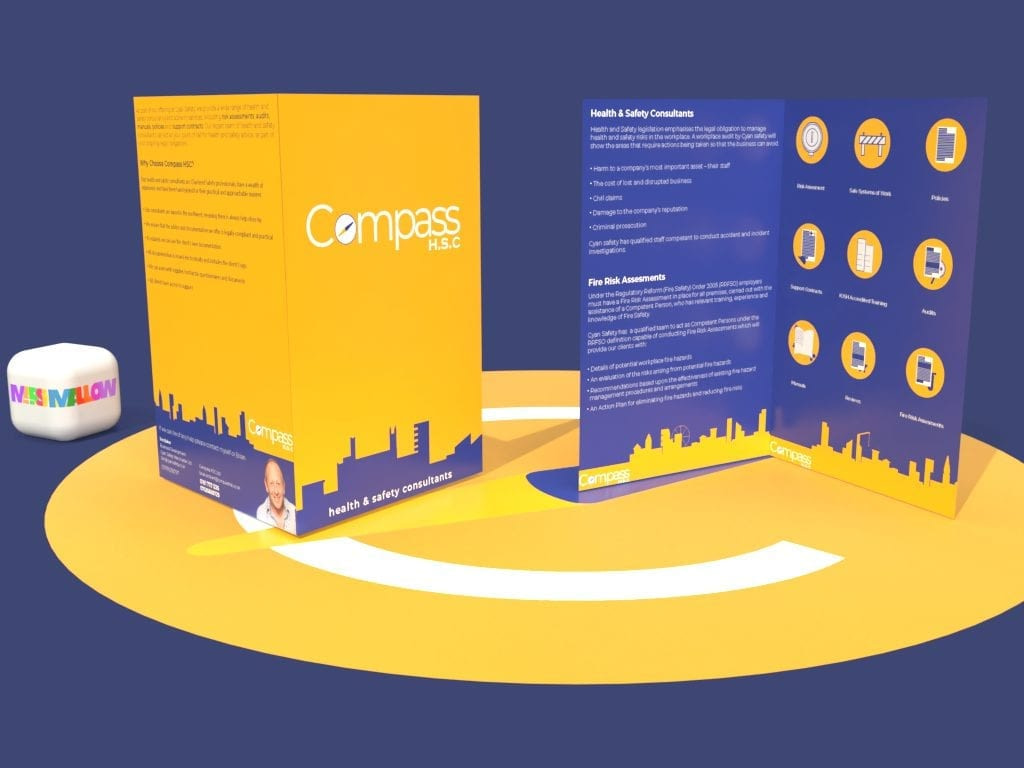 Compass HSC Icon Brochure | Creative Design by Marshmallow Marketing